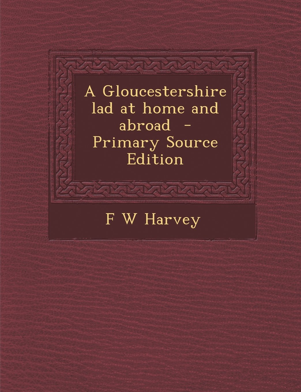 Gloucestershire Lad at Home and Abroad PDF