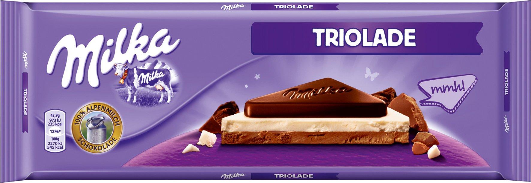Milka Triolade Chocolate Large ( 300g ) by Milka