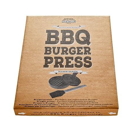 ... Molde para hamburguesas - Con asa y cepillo de silicona - Accesorios para parrillas y BBQ - Amantes de las hamburguesas - Set de barbacoas - Ideas ...