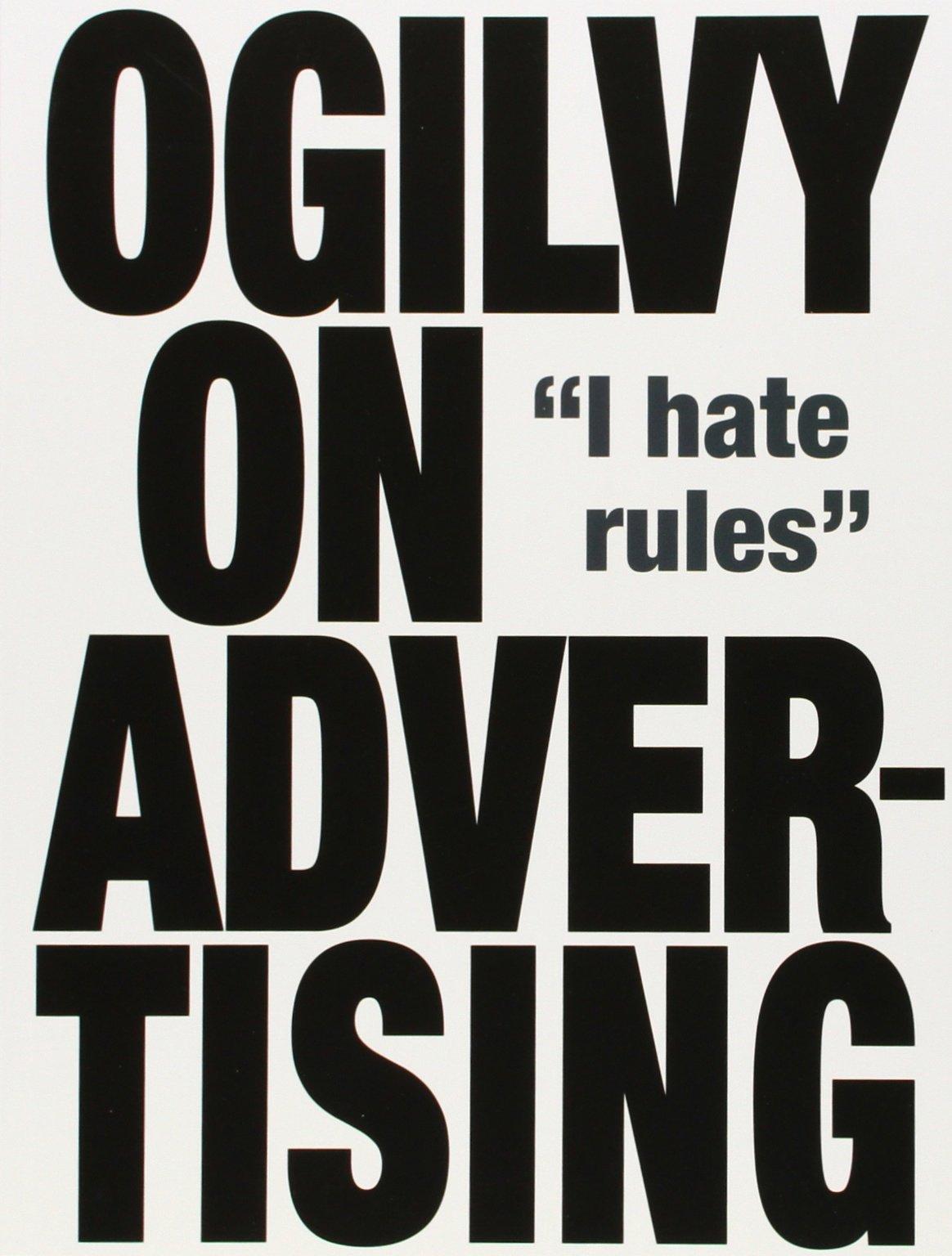 Ogilvy on Advertising: Amazon.co.uk: David Ogilvy: 9781853756153 ...