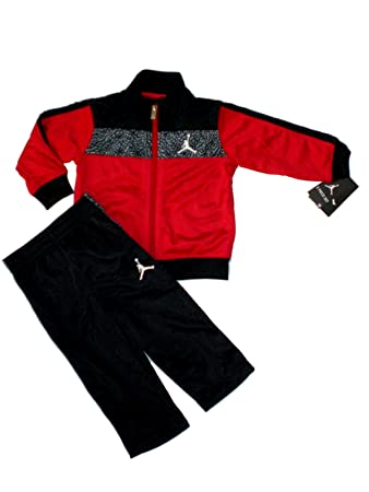e31189b39eb Image Unavailable. Image not available for. Color: Nike Air Jordan Jumpman  Baby Jacket Tracksuit ...