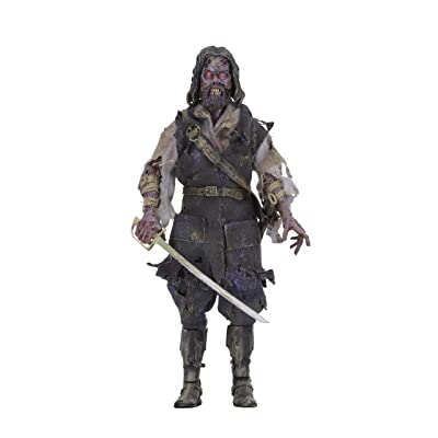 "NECA - The Fog - 8"" Clothed Action Figure - Captain Blake: Toys & Games"