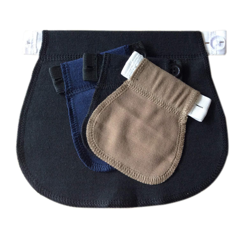 0a4fad14f92e0 Amazon.com: 1Pcs Maternity Pregnancy Waistband Belt Adjustable Elastic  Waist Extender Clothing Pants for Pregnant