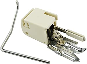 DREAMSTITCH Low Shank Walking Presser Foot with Quilt Guides 214874013 for Babylock,Elna,Janome (New Home),Kenmore,Pfaff,Singer,Viking,White #214874013