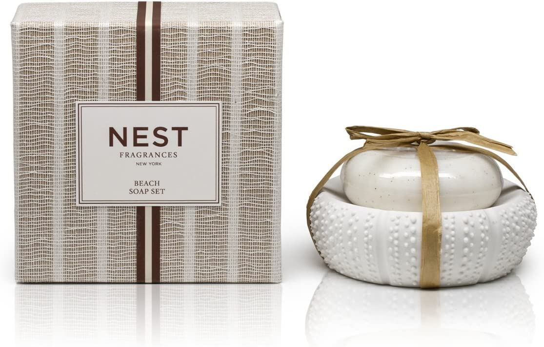 NEST Fragrances NEST06-SS-BE Beach Soap Dish Set