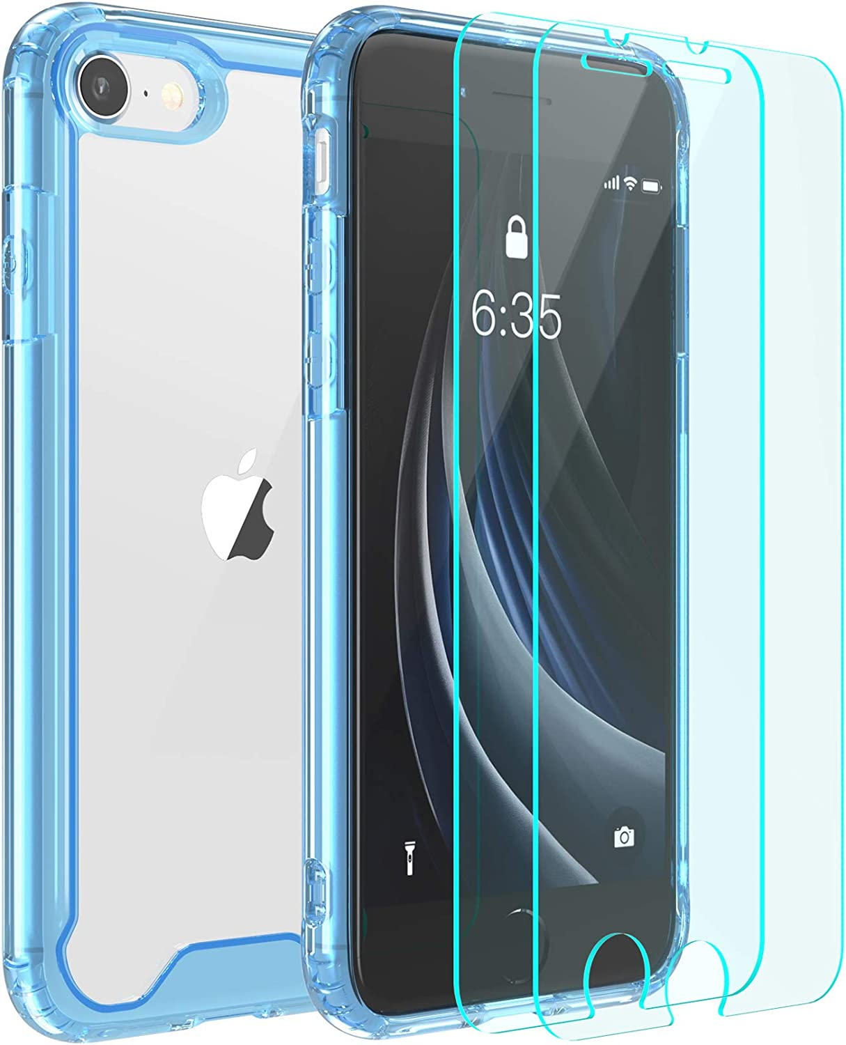 TPU Phone Case Cover for Apple iPhone SE 2020,78,Staffordshire Print,Designed in USA