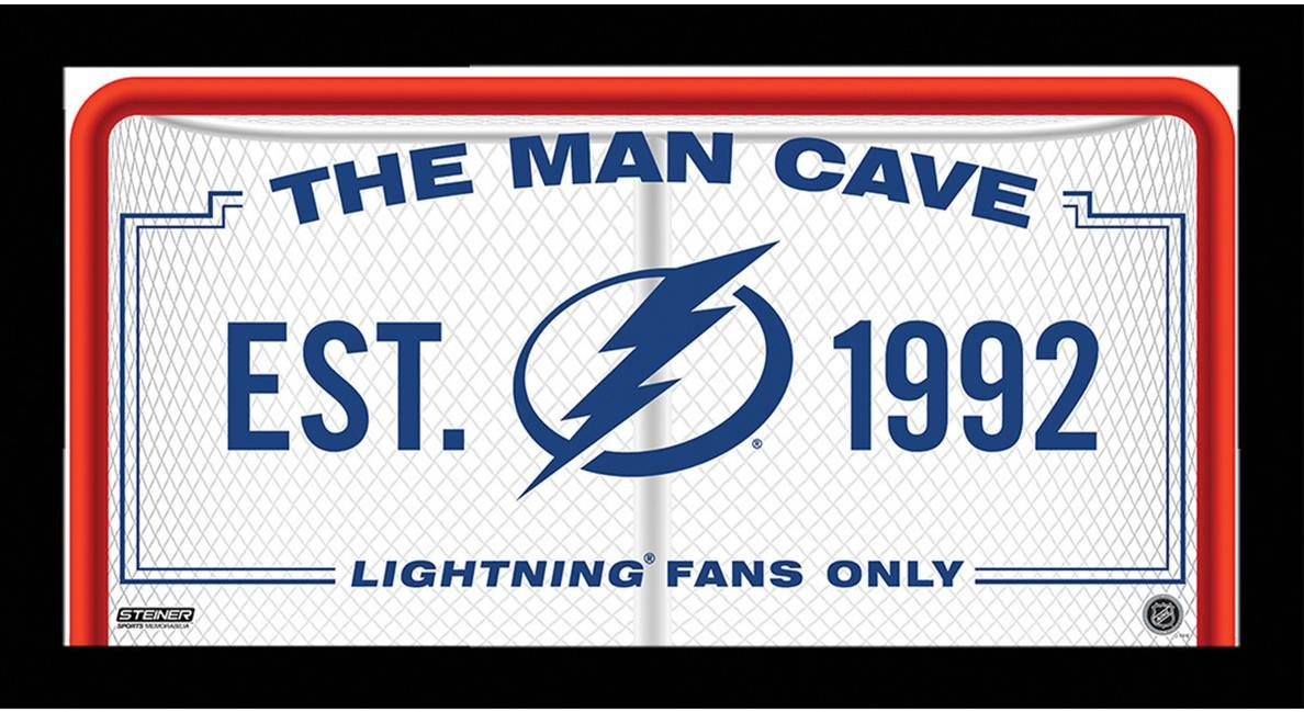 Steiner Sports Colorado Avalanche Man Cave Sign 10 by 20 Framed Photo