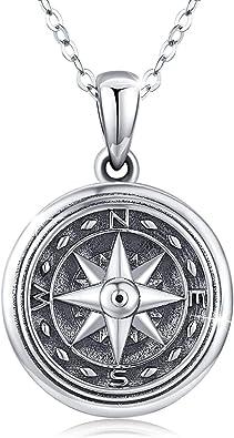 Engraved Locket Gifts Under 30 Locket Necklace Gift for Her Silver Round Locket Silver Locket Necklace Engraved Locket Necklace