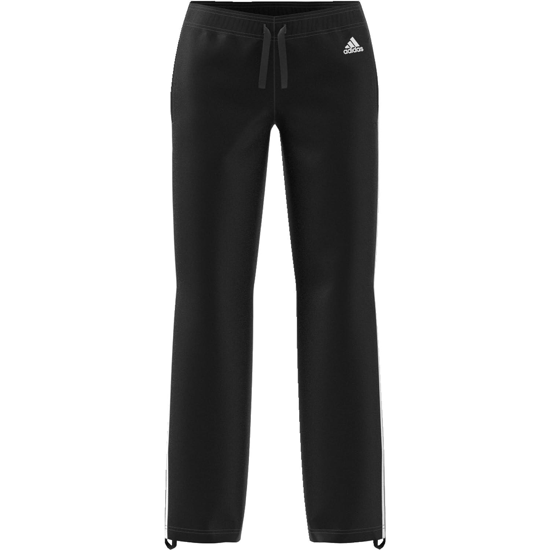 e48133bb1c5c36 adidas Damen Essentials 3-Stripes Open Hem Slim Hose