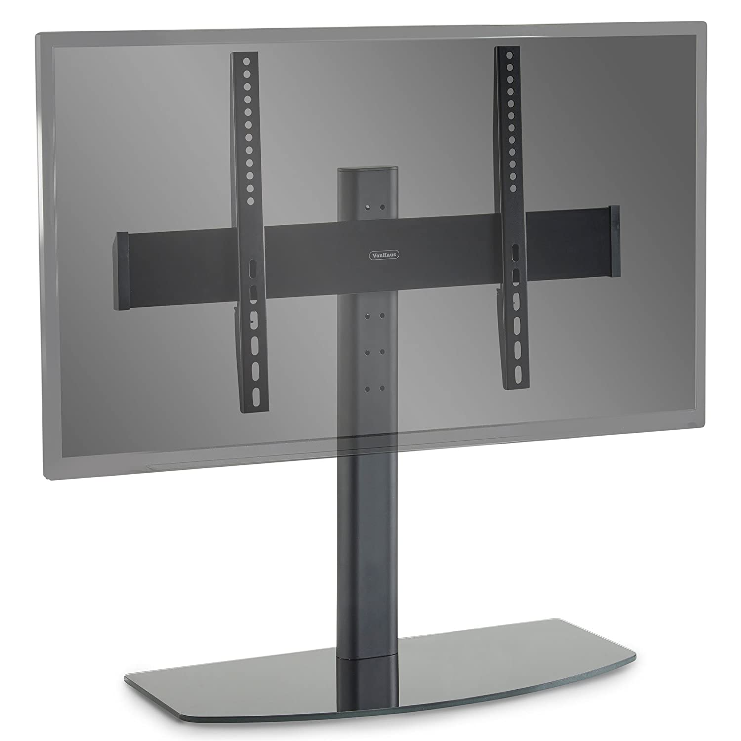 """VonHaus Universal Table Top TV Stand/Pedestal Bracket for 32-50"""" Screens 
