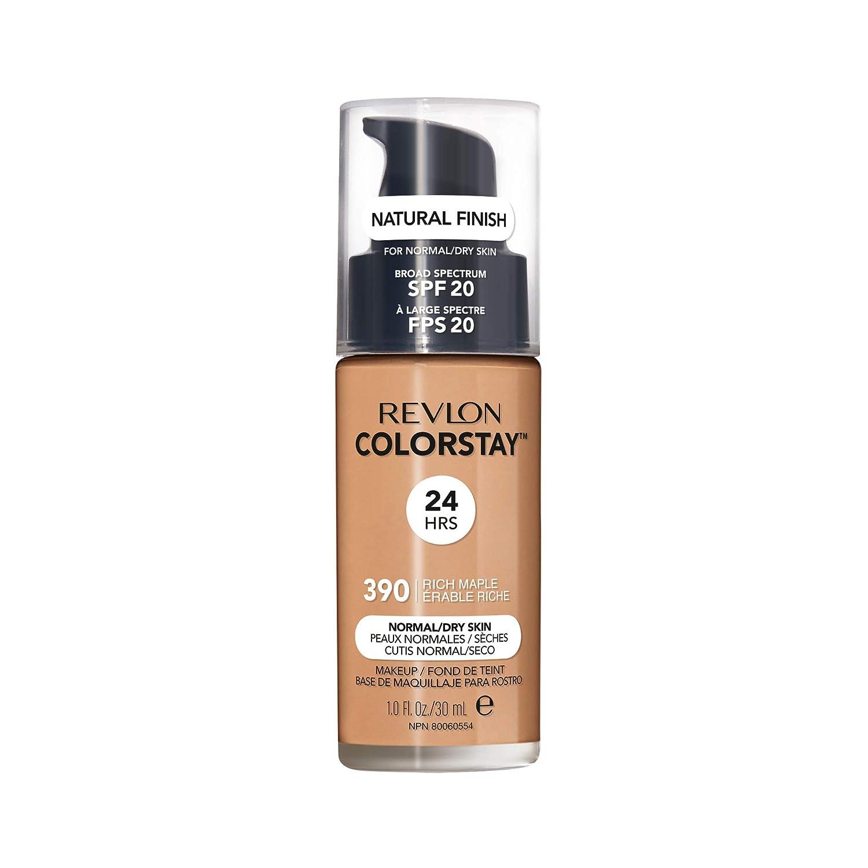 Revlon ColorStay Liquid Foundation For Normal/dry Skin, SPF 20, Rich Maple, 1 Fl Oz