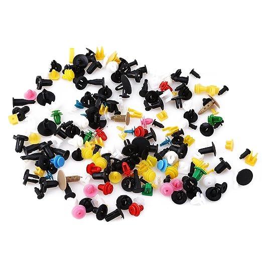 Meolin Car Fender Push Retainer Pin Rivet Trim Clip Door Panel Moulding Fastener,500 capsules//Bag,0.31-1.570.39-1.1in