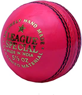 CW cricket palla in pelle rosa in confezione di sei palle