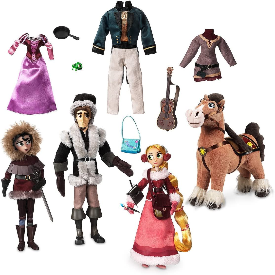 Amazon Com Disney Tangled The Series Deluxe Doll Set Toys Games