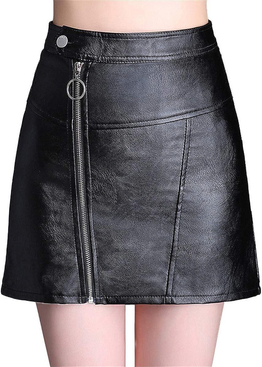 Xiuy Con Cremallera Ajustada Skirt Bonitos Elasticos Enagua ...