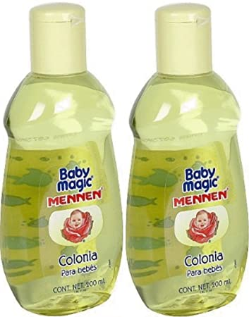 Baby Magic Baby Cologne 2 Bottles 2 Botellas- Colonia Mennen Para Bebes