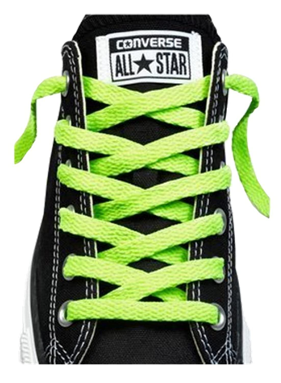 11d32c95414b Converse Unisex Replacement Cord Shoe Laces Flat Style Shoelaces   Amazon.co.uk  Shoes   Bags