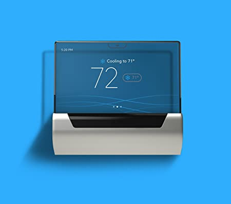 GLAS Smart Thermostat by Johnson Controls, Translucent OLED Touchscreen