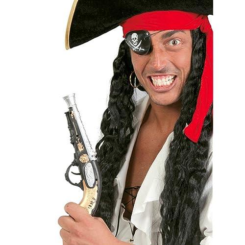 Guirca Fêtes gui18353–Pistolet de Pirate, 28cm