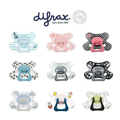 Difrax GL 804 Chupete, Natural, Además de 12 meses, Transparente