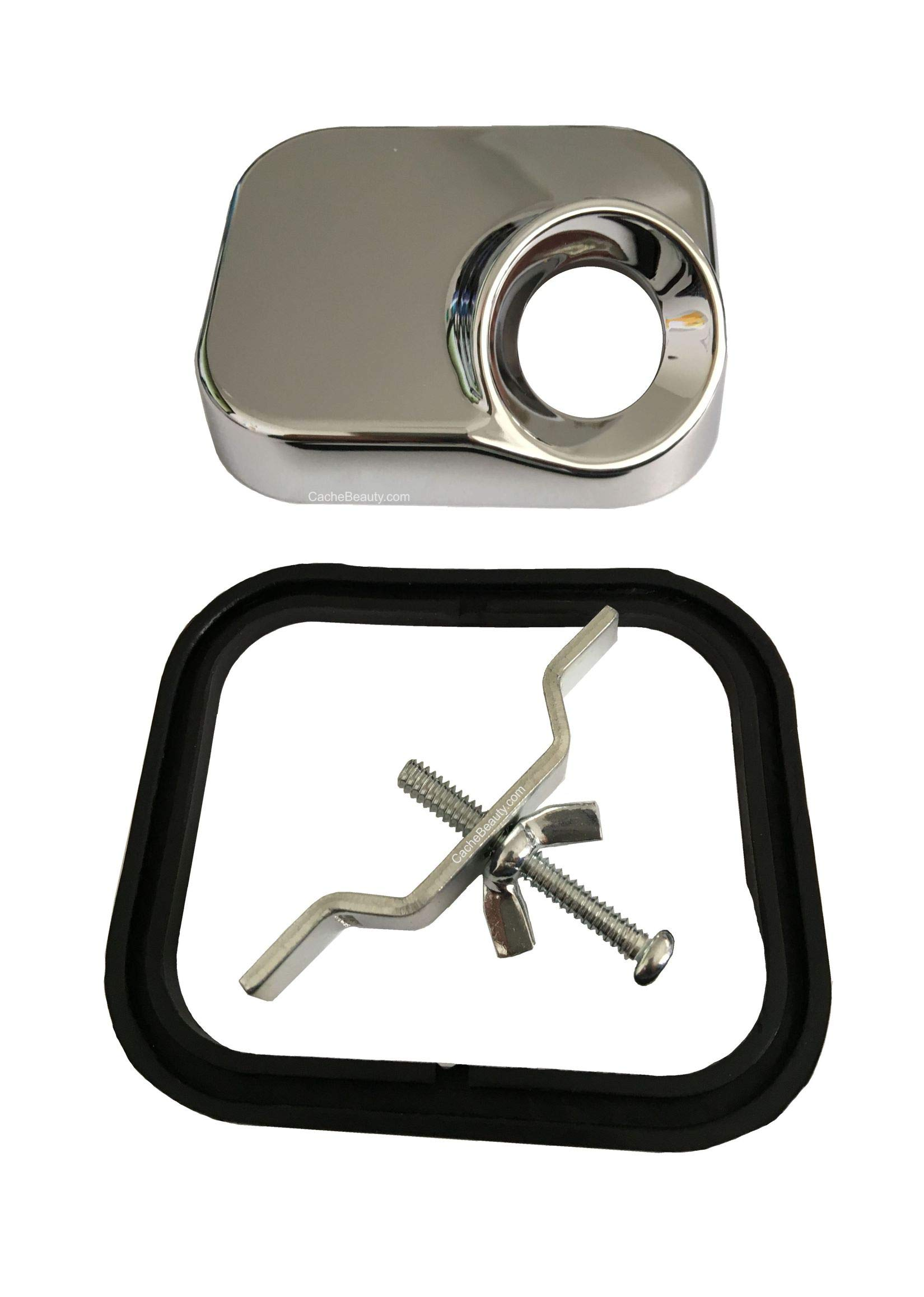 Marble Products Hose Receiver Kit For Shampoo Bowl by Marble