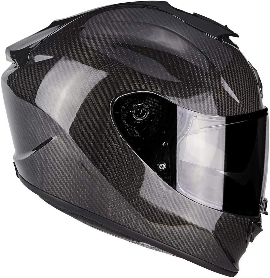 Scorpion Exo 1400 Air Carbon Motorcycle Helmet Matt Black Nc M Black Auto