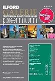 Ilford Premium - Papel fotográfico (100 hojas), blanco