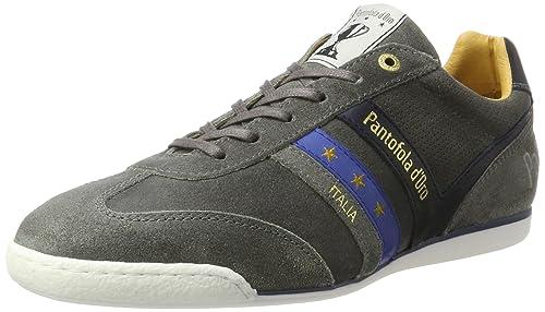 Vasto Suede Low, Sneaker Uomo, Verde (Oliva), 44 EU Pantofola D'oro