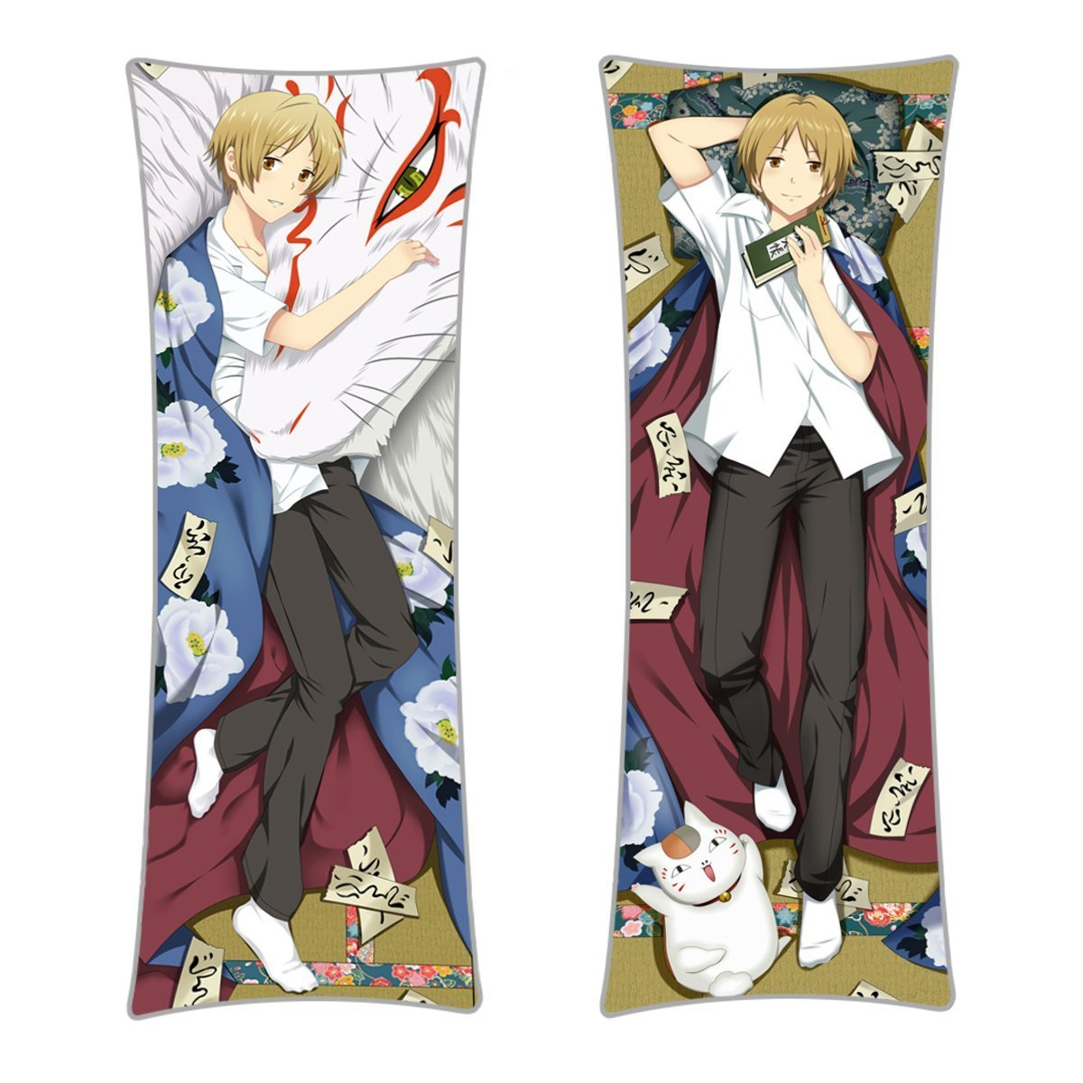 CoolChange Pakt der Yokai Umarmungskissen Natsume Takashi Bezug & Kissen, Dakimakura 150x50cm