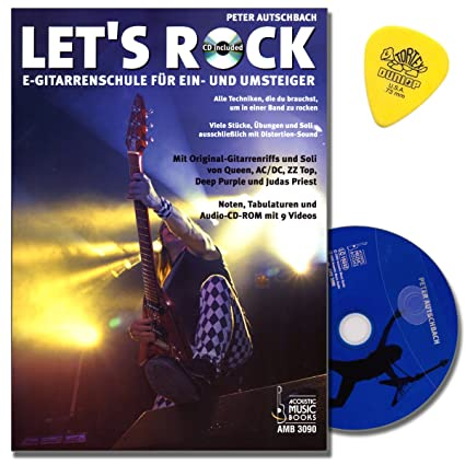 Let 's Rock para guitarra eléctrica/Tab – Peter autsch Bachs Nueva guitarra
