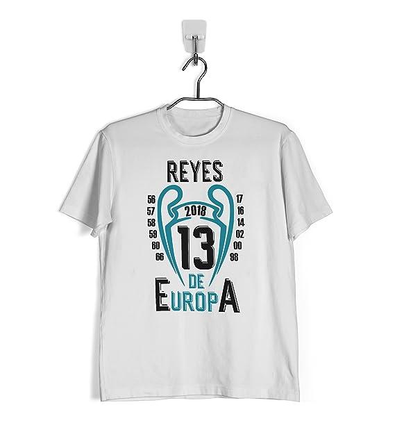 Ropa4 Camiseta La 13 - Campeones de Europa Real Madrid: Amazon.es: Ropa y accesorios