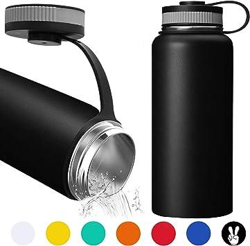 Amazon.com: Shop Red Radish 18/8 - Botella de agua con ...
