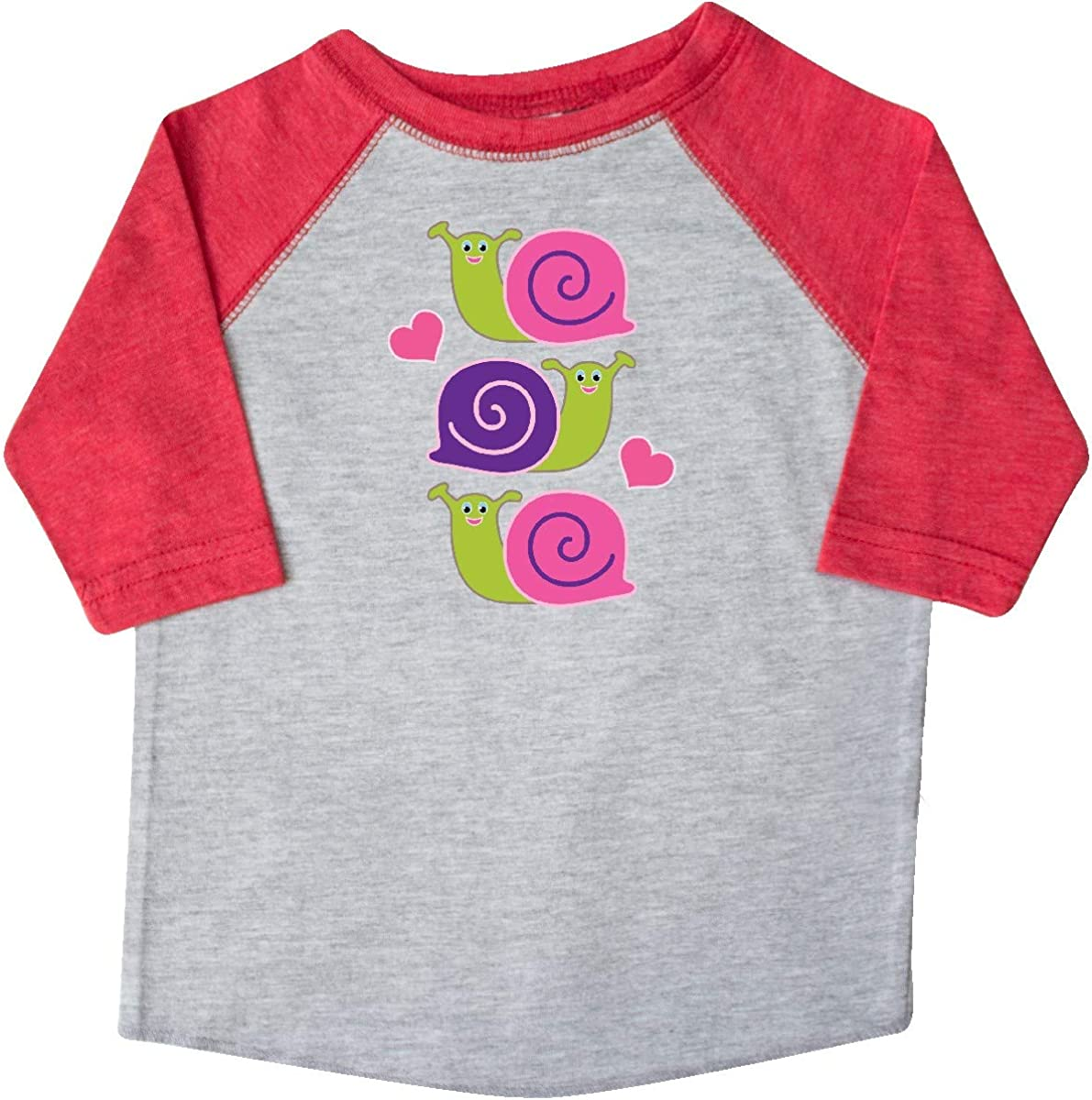 inktastic Snail Lover Girl Garden Snails Toddler T-Shirt