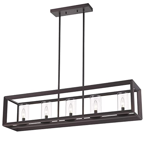 45b529415e3 Emliviar 5-Light Kitchen Island Lighting