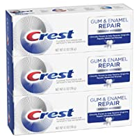 3-Pack Crest Gum & Enamel Repair Toothpaste Advanced 4.1 Oz