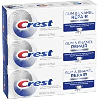 3-Pack Crest Gum & Enamel Repair Advanced Whitening Toothpaste, 4.1 Ounce