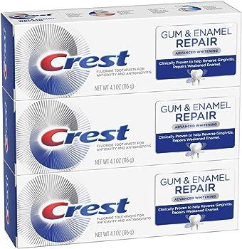 3-Pack Crest Gum & Enamel Repair Advanced Whitening Toothpaste