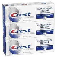 Crest Gum & Enamel Repair Toothpaste, Advanced Whitening, 4.1oz (Pack of 3)