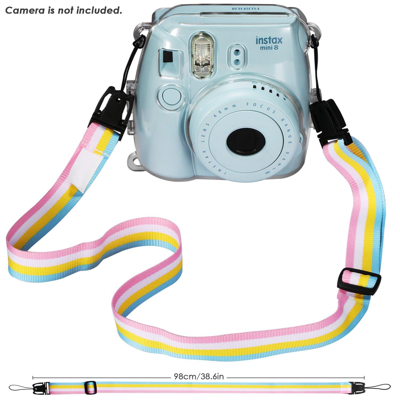 4x Filtro Colorato 10x Cornice Portafoto da Parete E altri accessori Neewer 27-in-1 Gran Combo Kit di Accessori per Fujifilm Instax Mini 8//8S Inclusi 1x Custodia 1x Obiettivo