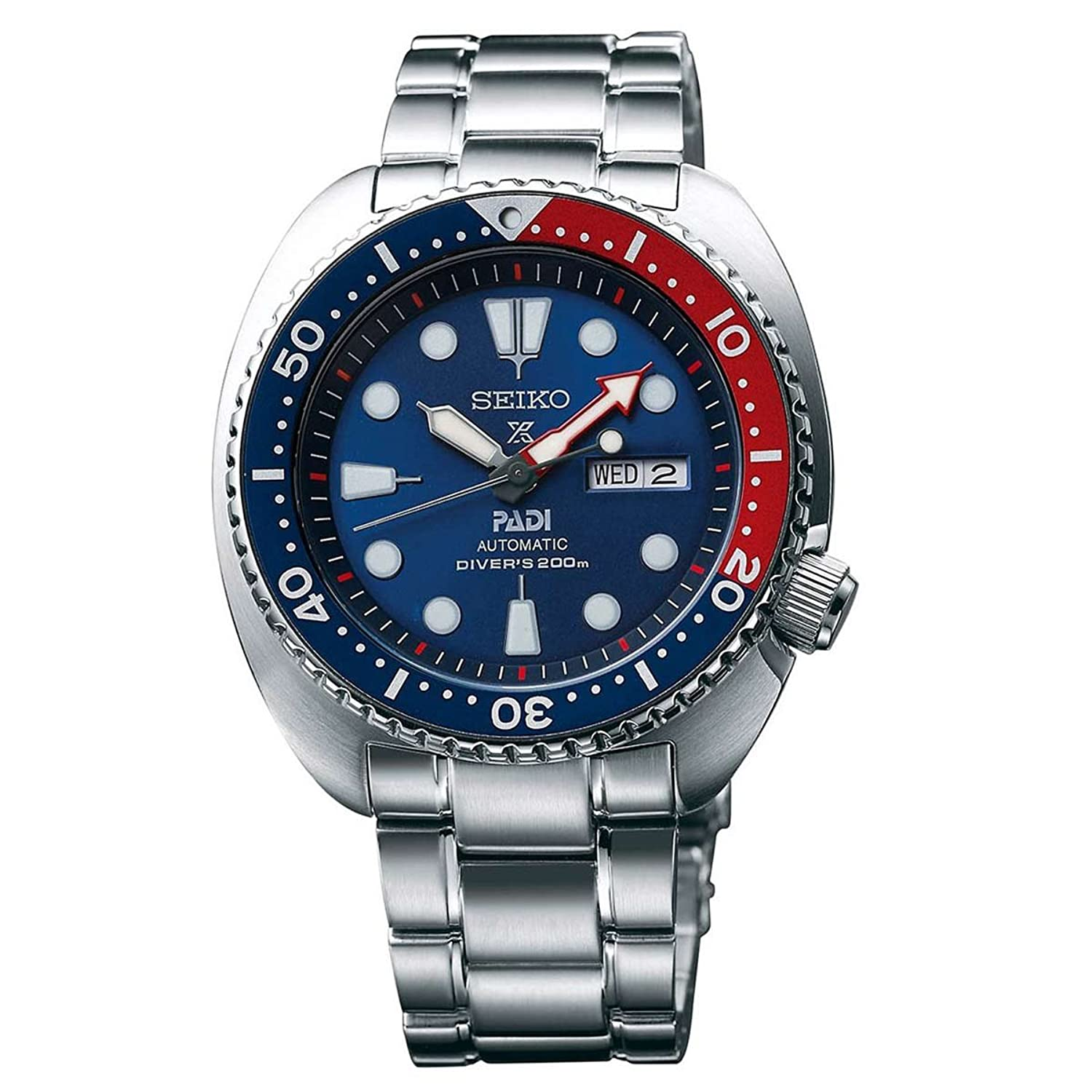 mens watches shop amazon uk seiko prospex padi 200m diver s automatic manual winding mechanism special edition watch srpa21k1