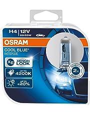 Osram 64193CBI-HCB 2 x Bombillas Cool Blue Intense H4 12V 60/55W DUO Blanco