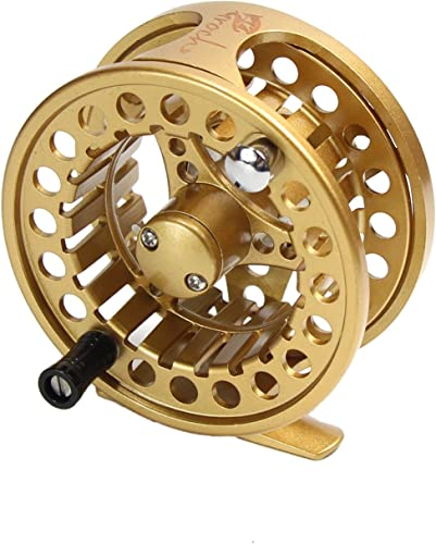 Fly Fishing Reel with Aluminum Alloy Body 3/4, 5/6, 7/8 Weights(Black, Gun Green, Gold, Silver) [Croch] Picture
