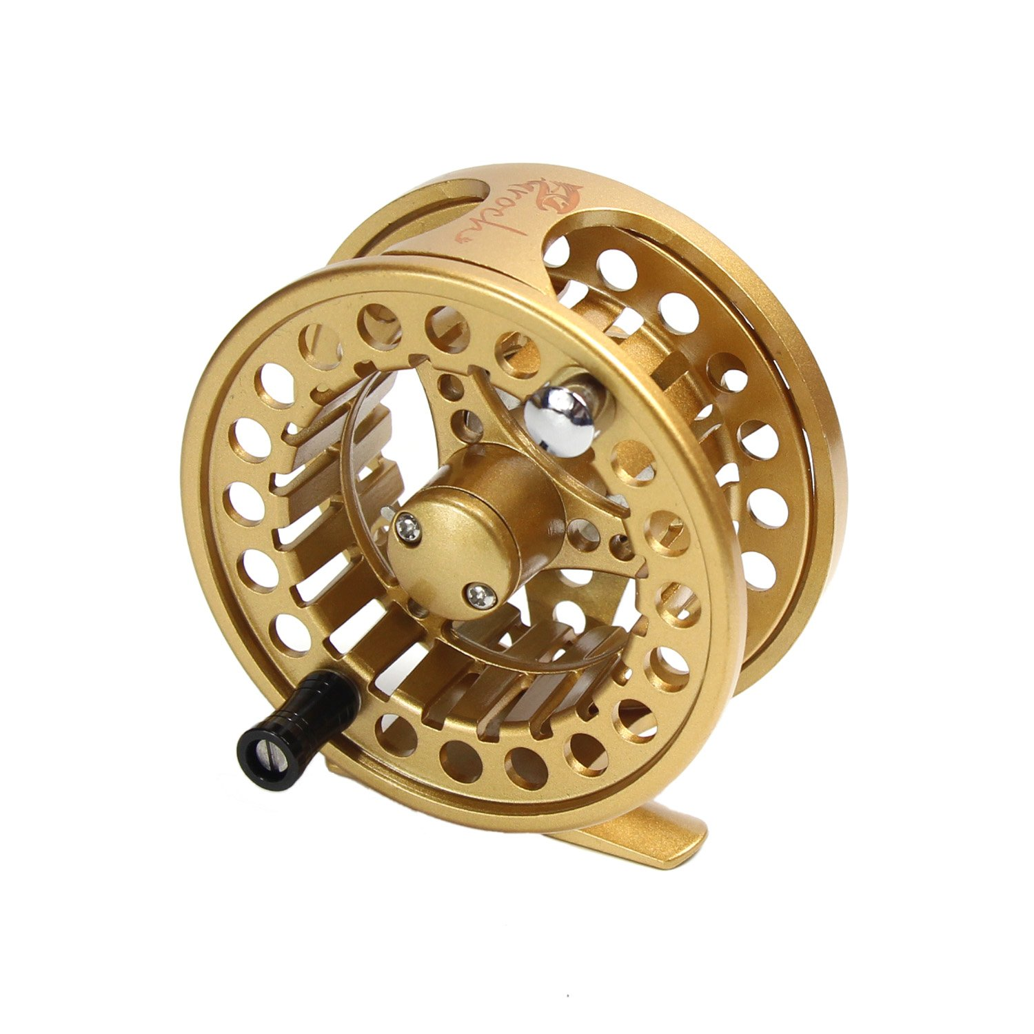 3 4wt fly reel cnc machined aluminum micro adjusting fly for Fly fishing reels ebay