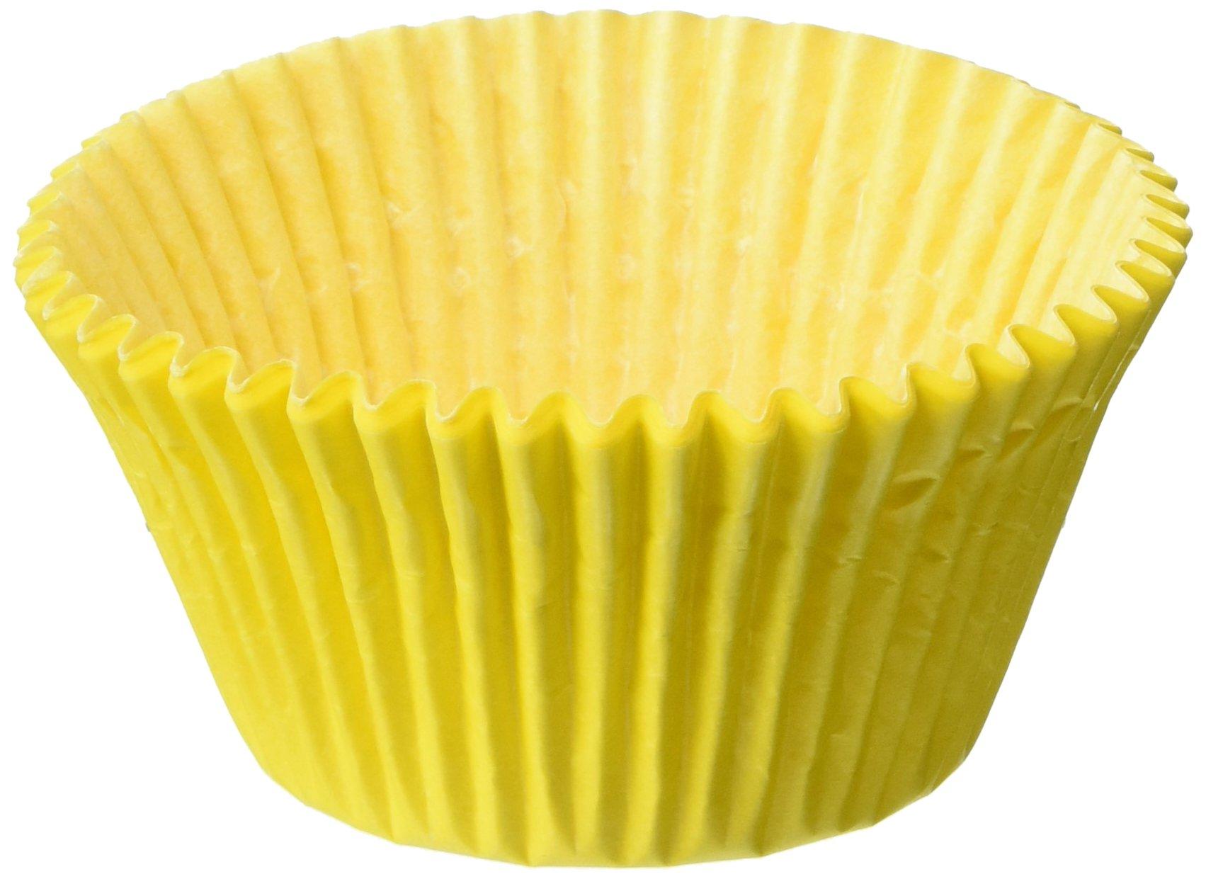 Oasis Supply Baking Cups, Jumbo, 100-Count, Yellow
