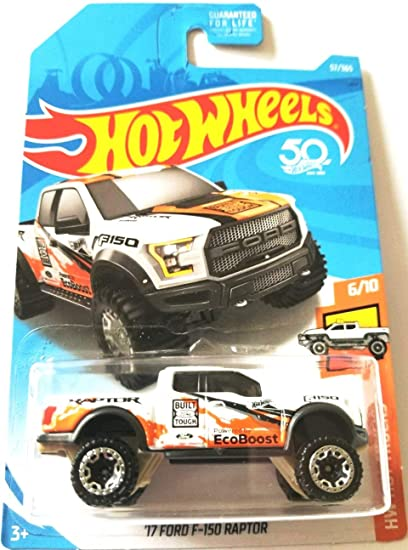 Amazon Com Hot Wheels 2018 50th Anniversary Hw Hot Trucks 17 Ford
