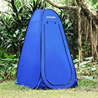 Pop Up Shower Tent Camping Portable Privacy Waterproof Instant Toilet Change Roo