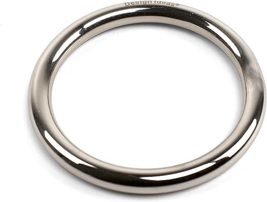 Design Ideas Toro Tissue Ring, Chrome