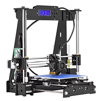 Aibecy Desktop 3d Drucker DIY Kits Hohe Präzision Ich Haus Acryl Rahmen  Wind I3 Mit TF