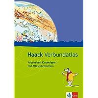 Haack Verbundatlas. Allgemeine Ausgabe: Arbeitsheft Kartenlesen mit Atlasführerschein Klasse 5