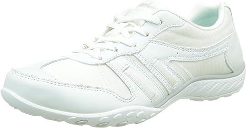 Skechers Sport Women's Just Relax Fashion Sneaker, White